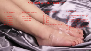 Self Foot Worship Roulette