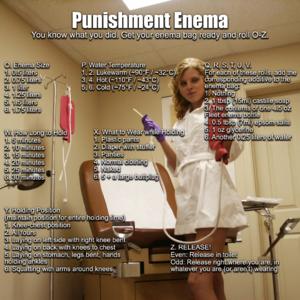Punishment Enema Roulette