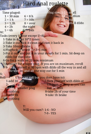 Hard Anal roulette