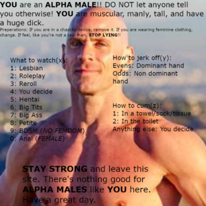 ALPHA MALE roulette