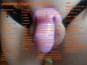 extreme chastity fap roulette