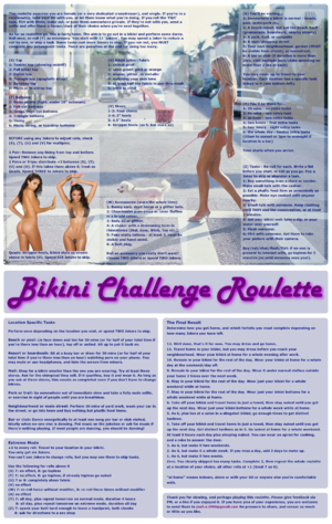 Bikini Challenge
