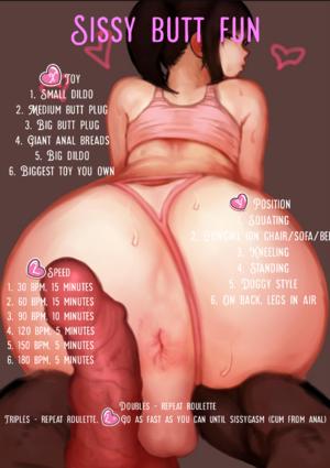 Sissy Butt Fun