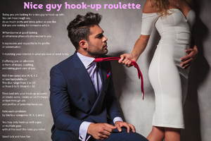 Nice guy hook-up roulette