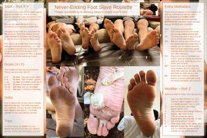 Never-Ending Slavery to Men's Feet
