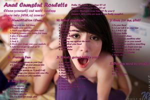 Anal Cumslut Roulette