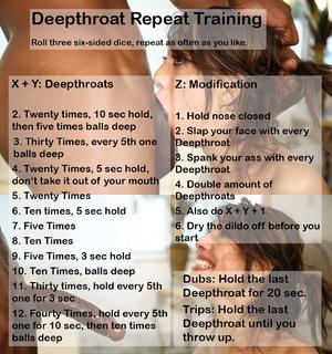 Deepthroat Repeat Training