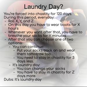 Laundry Day - Dirty Socks