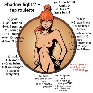 Shadow fight 2 - fap roulette