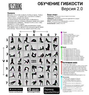 Обучение гибкости/анал/орал