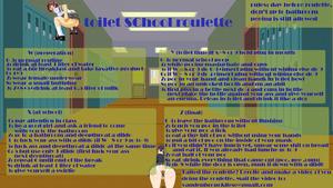 toilet school roulette