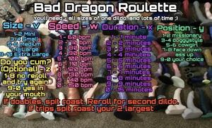 Bad Dragon Roulette