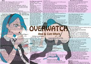 Overwatch Anal & Cum Whore