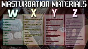Animeat's Masturbation Materials