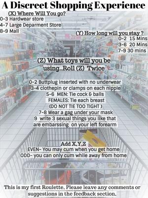 A Discreet Shopping Experience