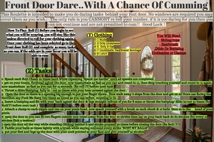 Front Door With a Chance of Cumming