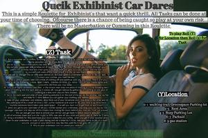 Quick Exhabinist Car Dares