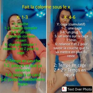 Couche ou chasteté [FR]