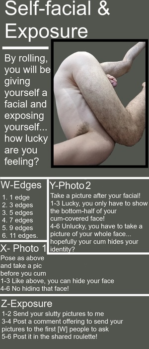 Self-facial & exposure