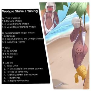 Wedgie Slave