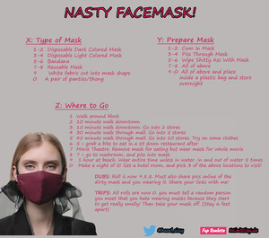 Nasty Face Mask