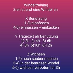 Windeltraining [DE]