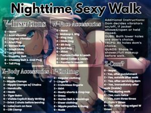 Nighttime Sexy Walk