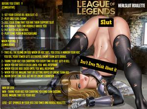 League Of Legends Healslut Roulette