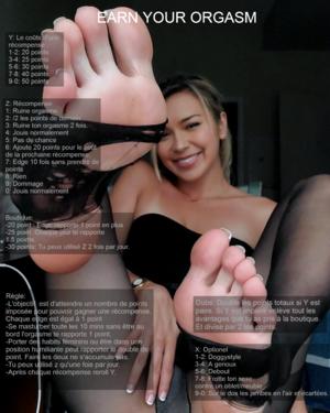 Earn your orgasm [FR]