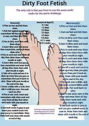 Dirty Foot Fetish
