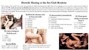 Hotwife Sharing at the Sex Club