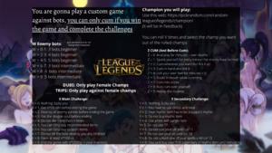 League of Legends 1 vs Bots