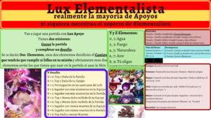 Lux Elementalista Support ESPAÑOL