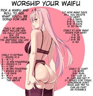 Waifu worship