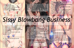 Sissy Blowbang Business