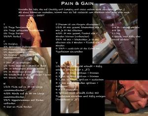 German Pain & Gain