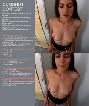 Cumshot Contest