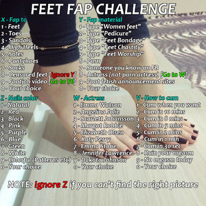 Feet Fap Roulette