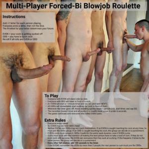 Multiplayer Forced-BI BJ Roulette