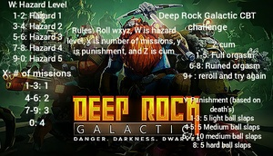 Deep Rock Galactic CBT challenge