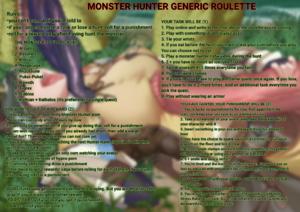 Monster Hunter Generic Roulette