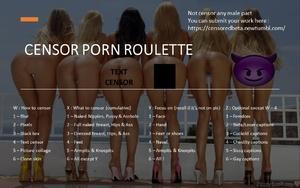 Censor porn roulette