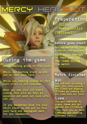 mercy healslut overwatch roulette