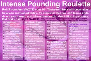 Intense Pounding Roulette