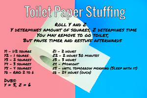 Toilet Paper Stuffing