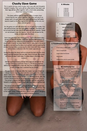 Chastity Slave Game