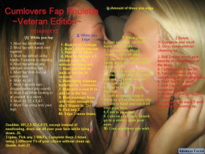 cum lovers fap roulette veteran edition
