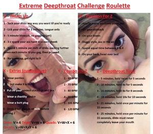 Extreme Deepthroat Challenge