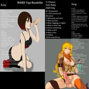 Rwby Fap Roulette