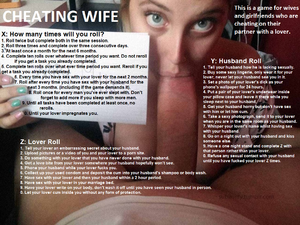 Cheating Wife Game